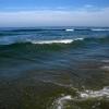 Черное море на песчаном пляже Анапы