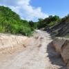 Дорога к горному озеру в Сукко