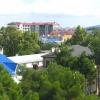 Вид на Анапу из окна гостевого дома