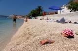 Каштел Старый, пляж