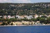 Вид на Чиово с палубы Bura Line