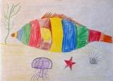 Антошка рисует впечатления о Хорватии