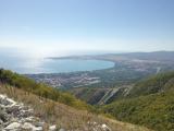 Вид на Геленджикскую бухту с горы Маркотх