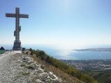 Поклонный крест на горе Маркотх