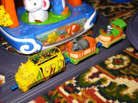 Мтамбо и вагончики для сафари-парка