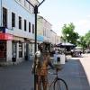 Калуга, скульптура на Тетральной улице