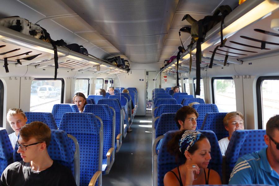 Поезд Сплит-Загреб
