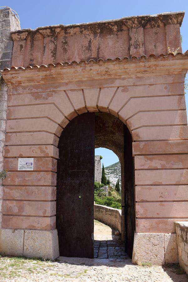 Крепость Клис, вход