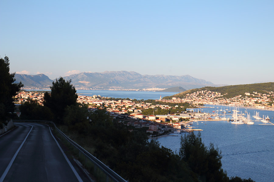 Конец экскурсии: Трогир по пути в Сплит