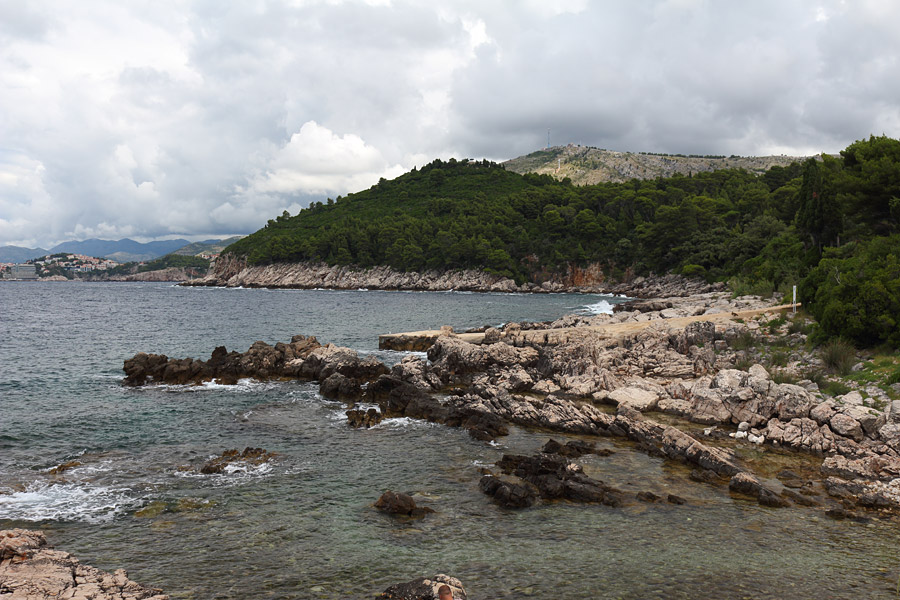 На острове Локрум