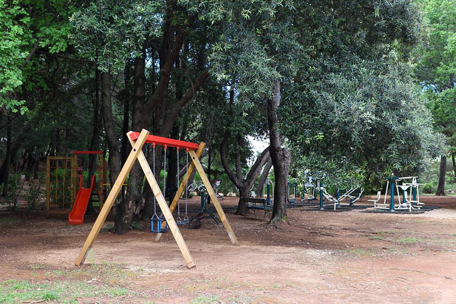Остров Локрум, детская площадка