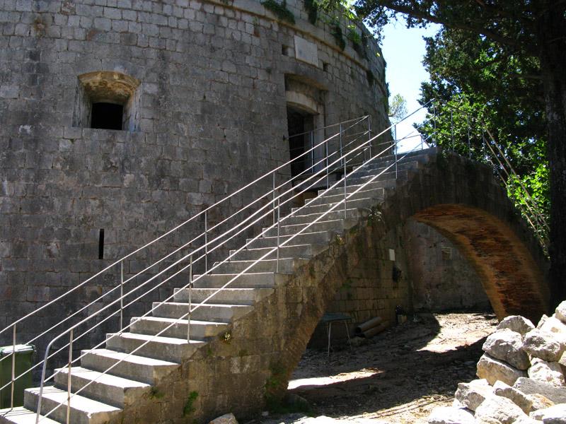 Остров Локрум, форт Роял