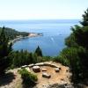 Остров Локрум, вид с форта Роял