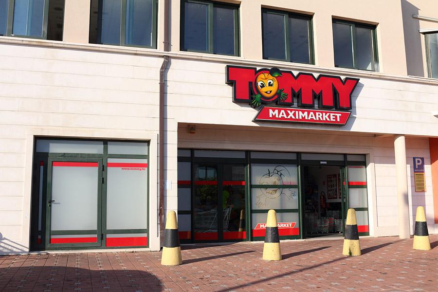 Макарска, магазин Tommy