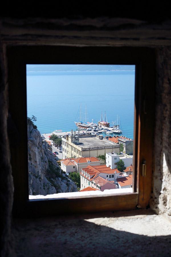 Омиш, вид с пиратской крепости Мирабела