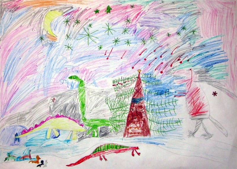 Новый год в долине динозавров