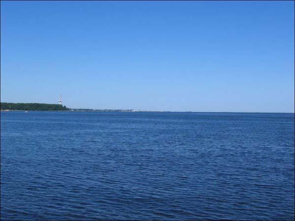 Петергоф - Нижний парк, вид на Финский залив
