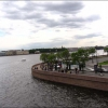 Санкт-Петербург, вид на Неву с крейсера Аврора