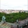 Вид на Санкт-Петербург с колоннады Исаакиевского собора