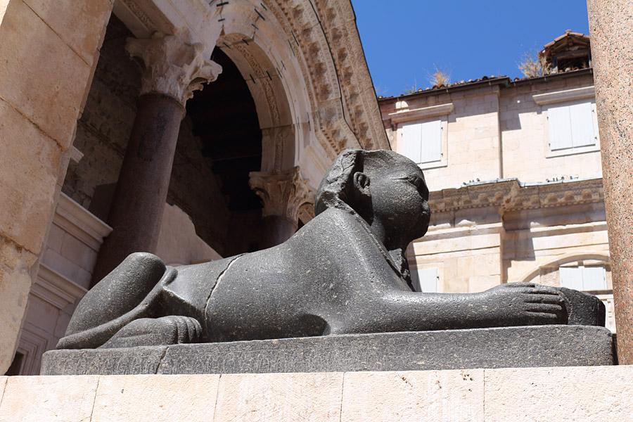 Прогулка по Сплиту: дворец Диоклетиана