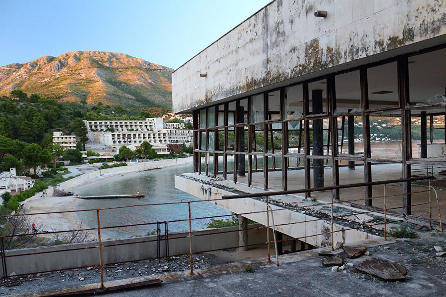 Купари, вид из разрушенного отеля
