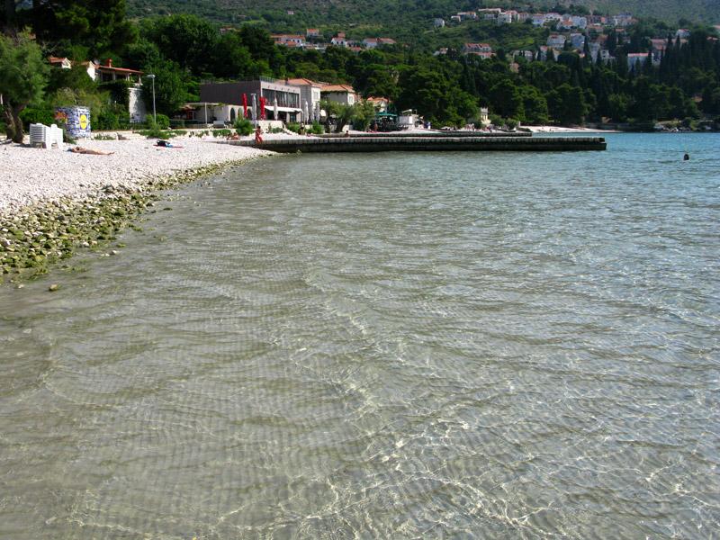 Пляж Сребрено