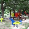 Сребрено, детская площадка возле мини-отеля Apartments Mare