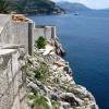 Дубровник, на стенах крепости Старого города