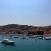 Трогир, вид на остров Чиово с крепости Камерленго