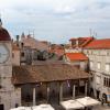 Трогир, вид на город с  колокольни кафедрального собора Святого Лаврентия