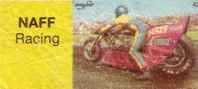 Вкладыш от жевательной резинки Mayfair (Майфайр).