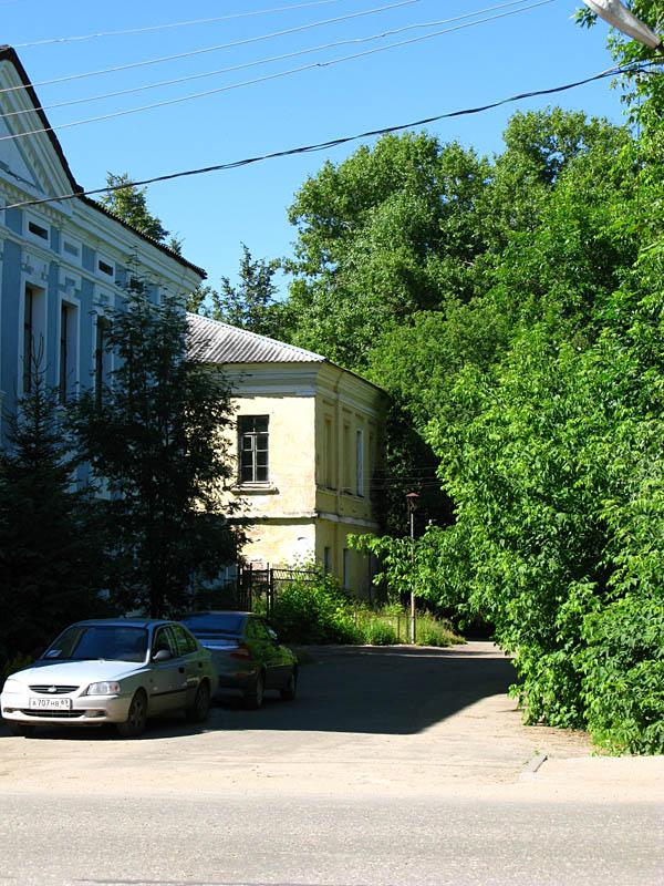 Вышний Волочек, бывший центральный вход в бывший городской сад