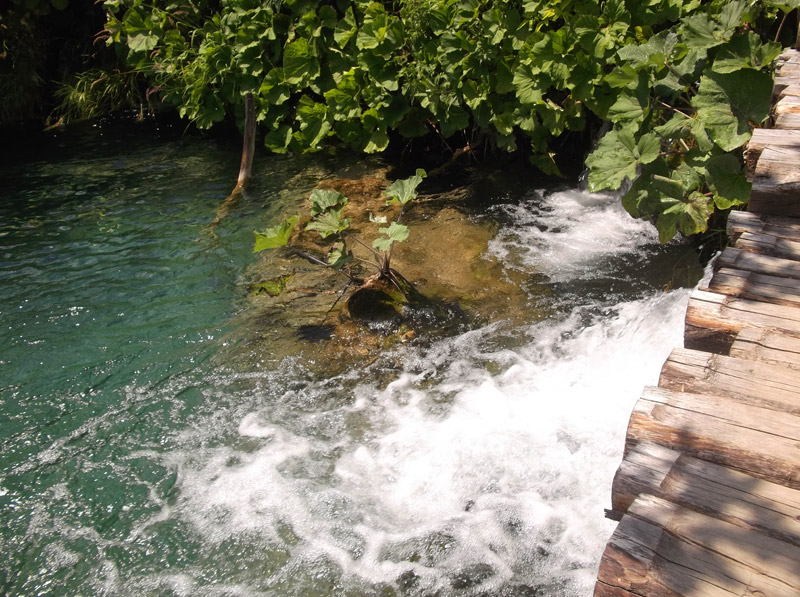 Хорватия, национальный парк Плитвицкие озера