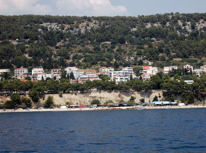 Хорватия, переезд из Сплита на остров Чиово