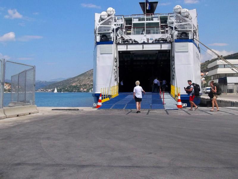 Хорватия, Дубровник, новый порт
