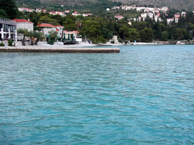 Хорватия, Сребрено, вечерняя прогулка