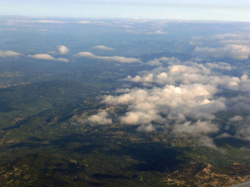 Подлетая к аэропорту Дубровник, Хорватия