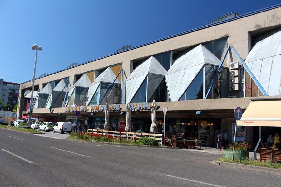 Загреб, здание автовокзала