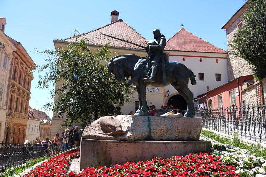 Загреб, Верхний город