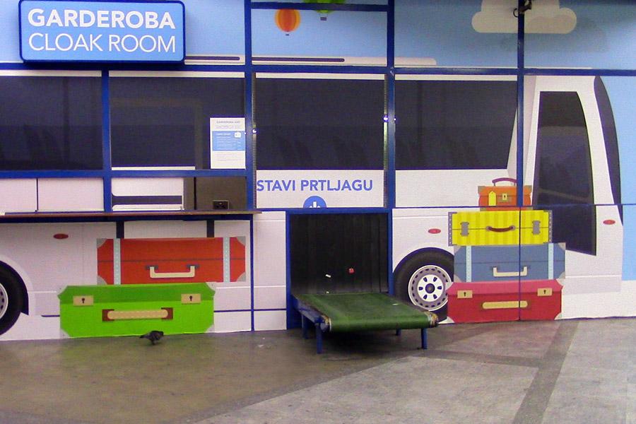 На автовокзале Загреба