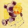 Министерство связи СССР. 30.10.69. 8млн. Ребенок с игрушечным медвежонком.