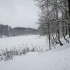 Калуга, Бушмановский пруд зимой